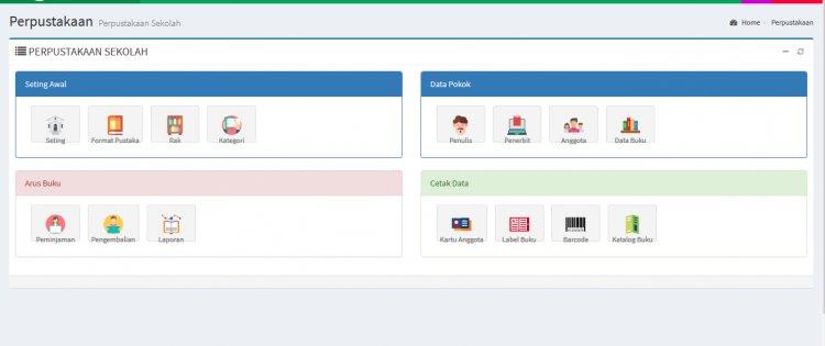 Aplikasi Perpustakaan Berbasis Web dengan Codeigniter, Bootstrap dan JQuery
