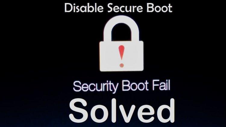 Solusi Ampuh masalah Security Boot Fail pada Laptop Acer